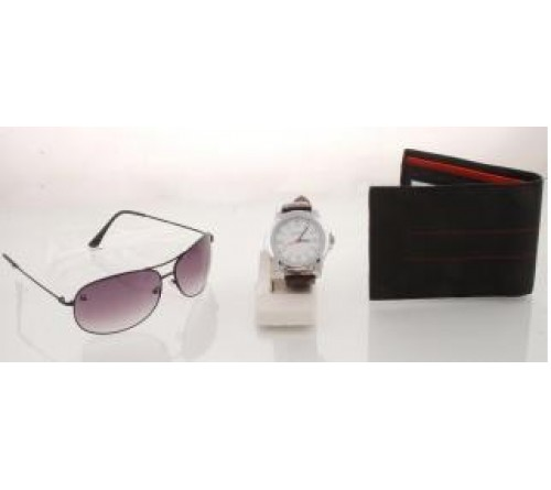 UCB Combo - Sunglass + Watch + Wallet