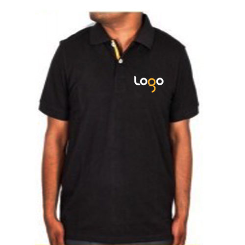 UCB Black PC Polo T-shirt