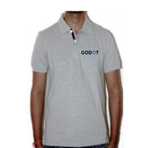 UCB Grey  PC Polo T-shirt