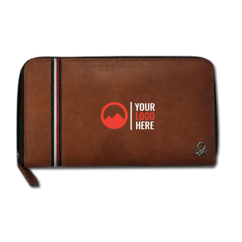 UCB Women Wallet Brown