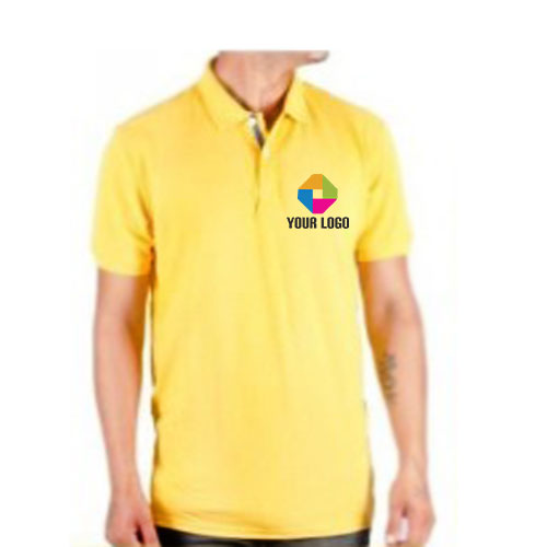 UCB Yellow PC Polo T-shirt