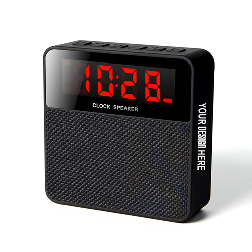 Bing Bluetooth Speaker With Clock