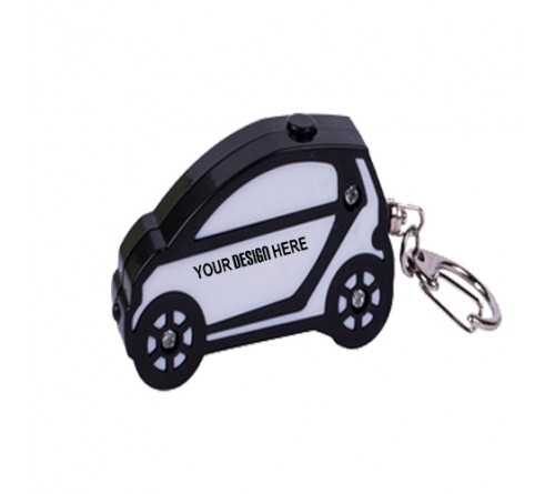 Car Shape Key Finder Keychain