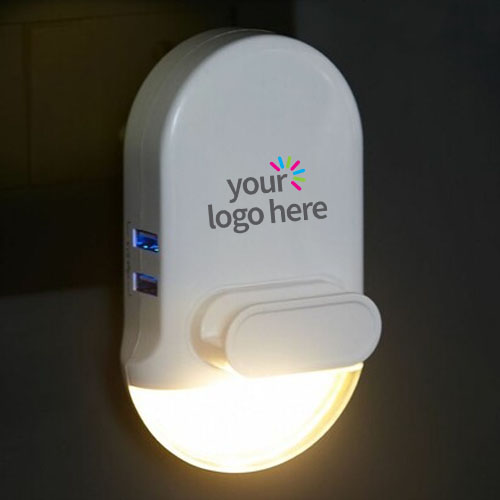 3 In 1 Mobile Holder With Night Light And USB Charger