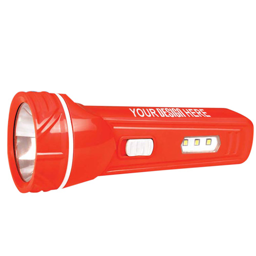 Blaze Rechargeable LED Torch with 3 LED Lamps