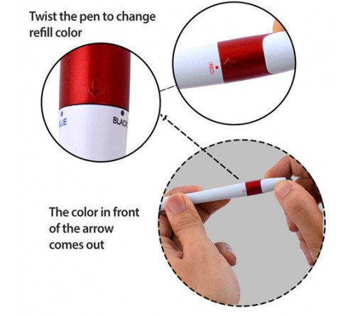 Twisty 3 Refill Pen with Stylus