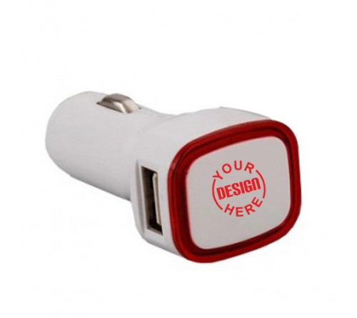 Personalized Backlit Car Charger