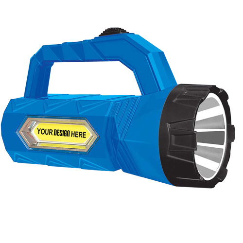 Rechargeable Led Torch with Cob Lamp